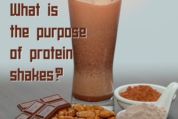 What is the purpose of protein shakes?